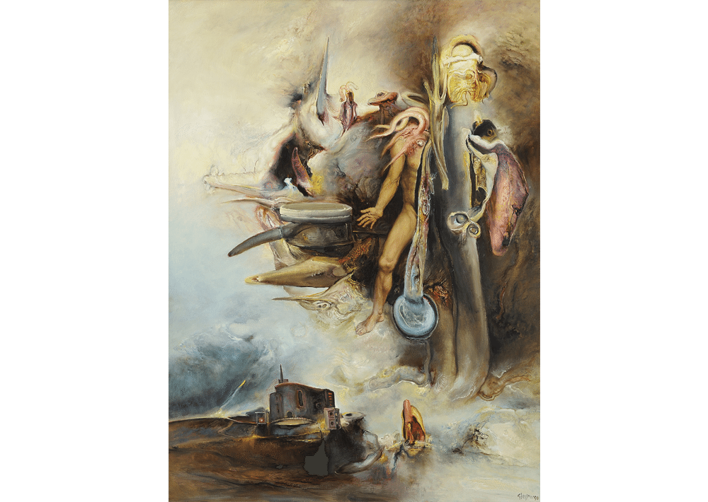 James Gleeson, 'Storm'