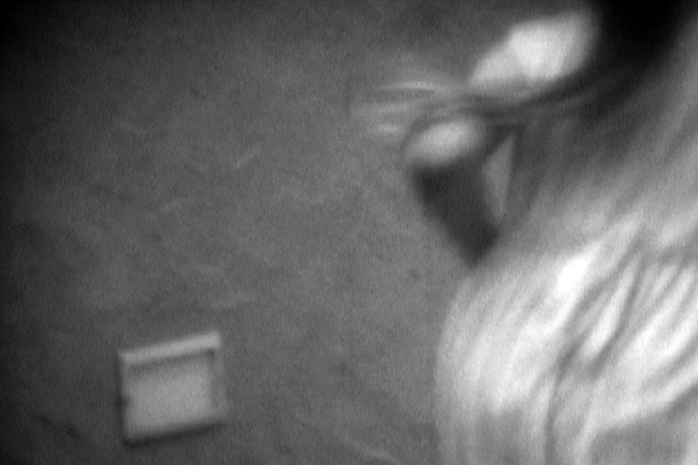 image credit: Barry Brown and Irene Proebsting ,Harmonic Ghosts, 2009, Super 8mm, B&W, Sound, 3 mins. Originating
