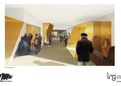 TOWARDS A NEW LRG: THREE ARCHITECTURAL PROPOSALS
