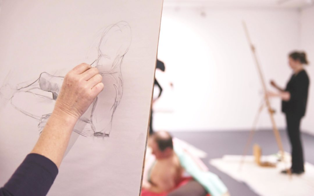 DRAWN TOGETHER: Tutored Life Drawing at Fed Uni