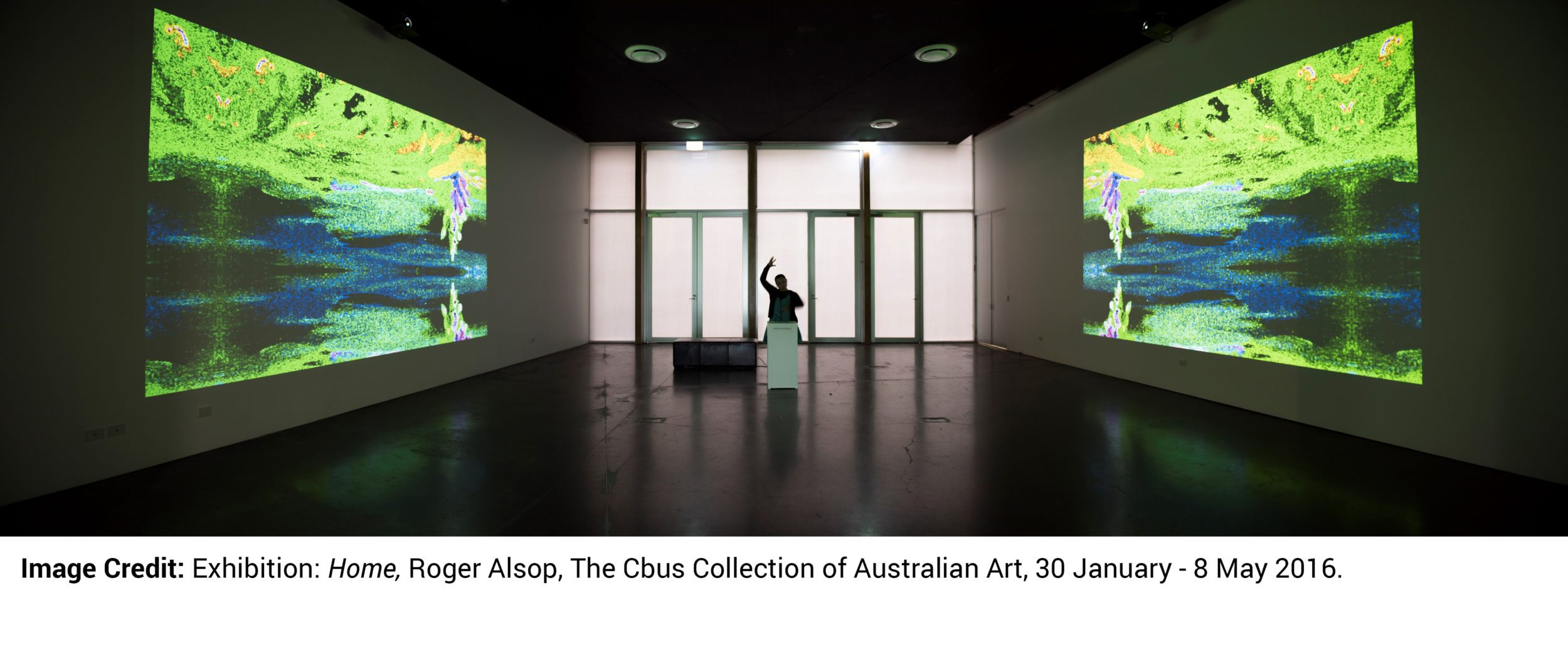 Image Credit: Exhibition: Home, Roger Alsop, The Cbus Collection of Australian Art, 30 January - 8 May 2016.