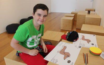 SCHOOL HOLIDAY PROGRAM Children's Art & Craft Activities at Moe Library