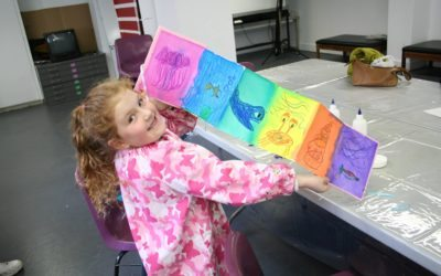 ART AFTER SCHOOL Creative Journals at Moe Library