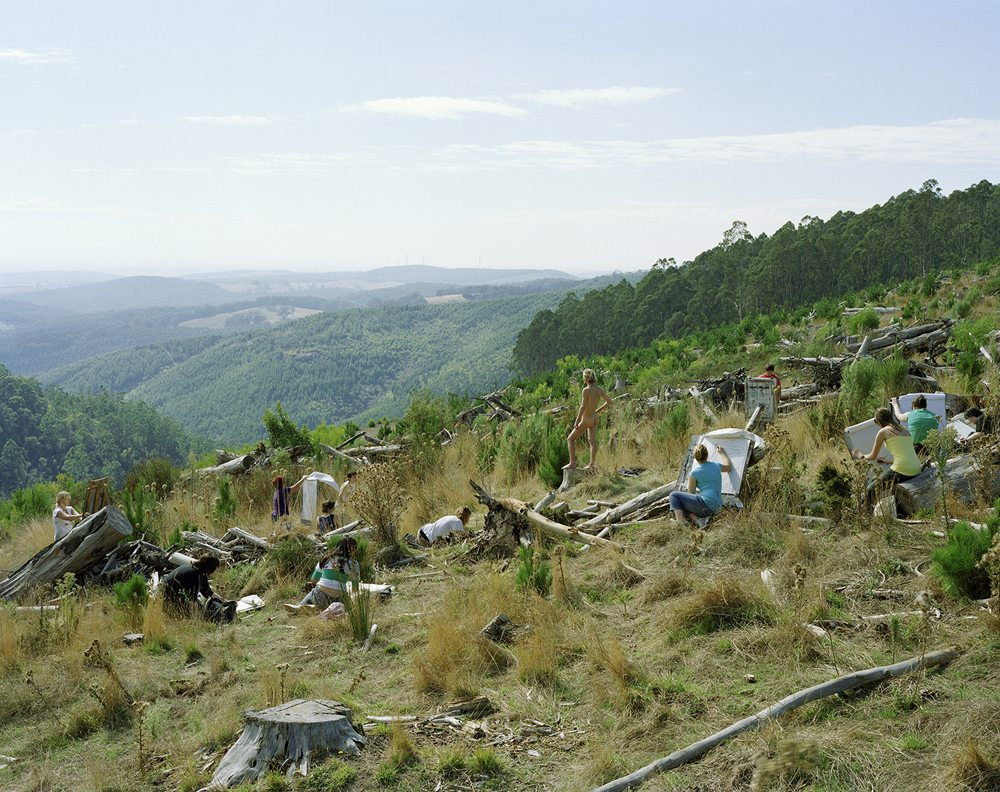 Image credit: Siri Hayes, Plein air explorers, 2008, C-type print, 127 x 107 cm. Copyright courtesy the artist.
