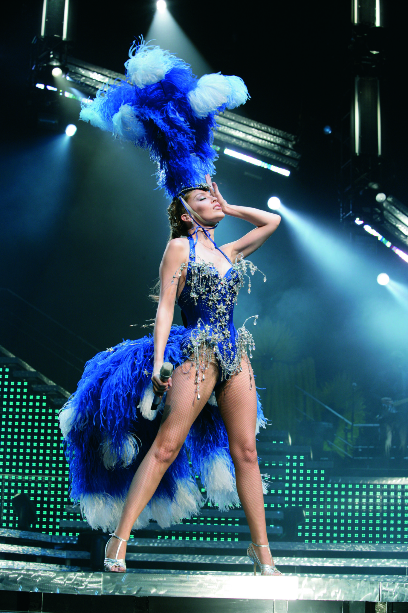 Kylie Minogue, Kylie Showgirl: The Greatest Hits tour, 2005. Photograph by Ken McKay. Reproduced courtesy of Darenote Ltd.