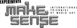 Experimenta Make Sense International Triennial of Media Art Logo