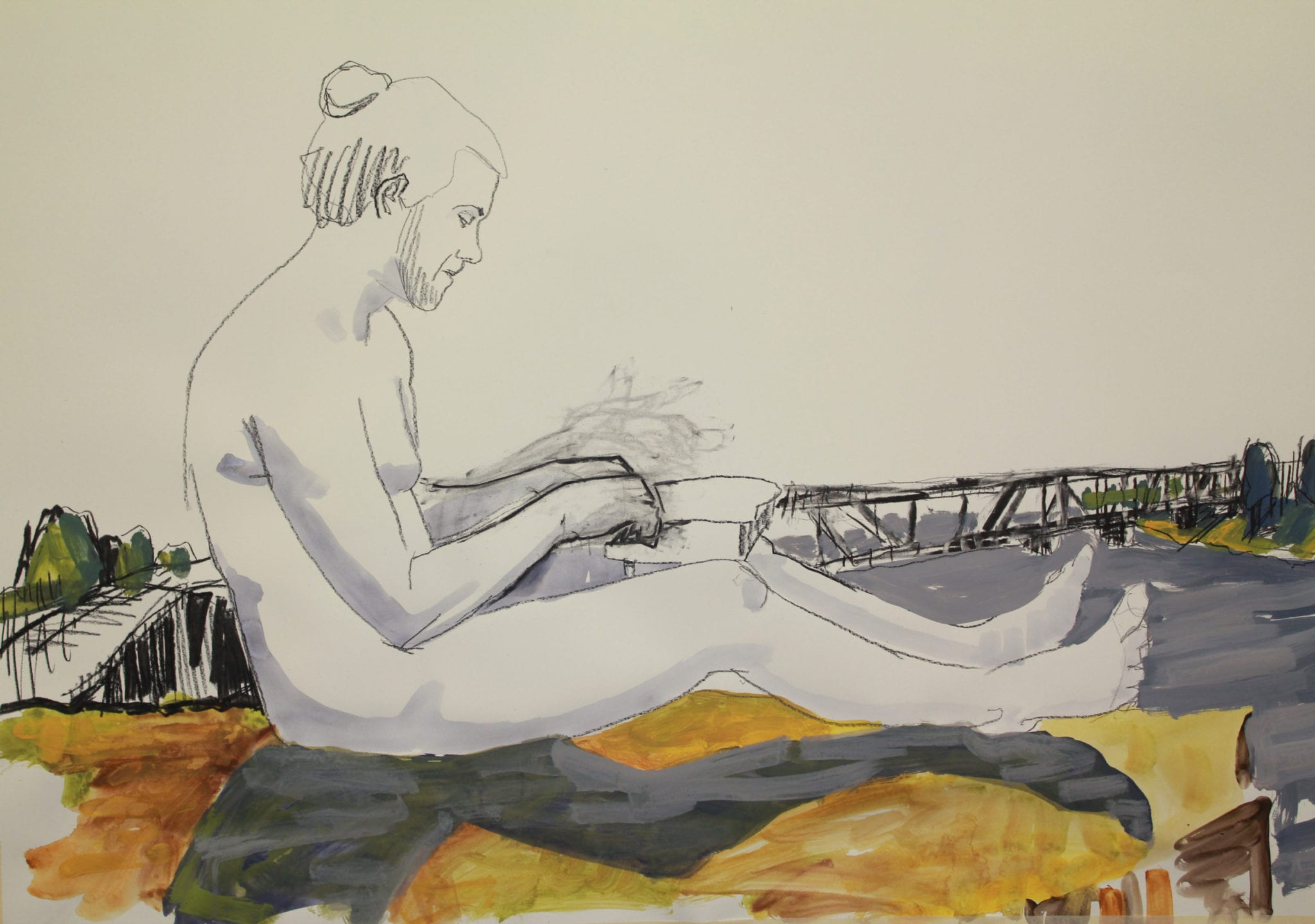 Image credit: Todd Fuller, Ode to Clarence, 2017/18, mixed media animation on paper, 6:42 min. Winner of the 2018 JADA.