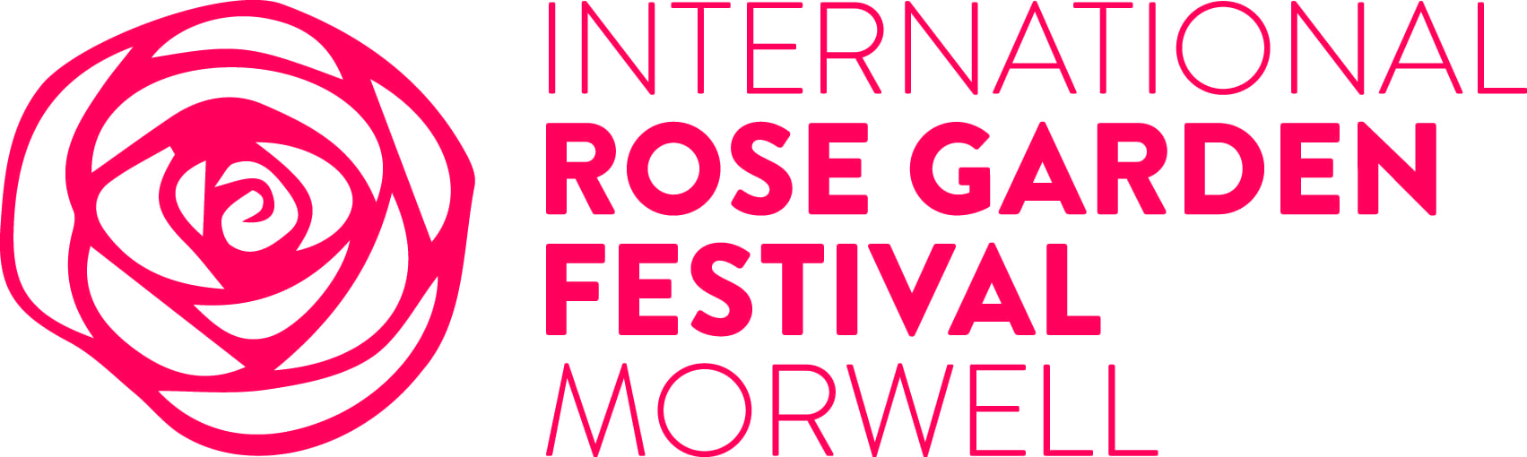 International Rose Garden Festival Morwell Logo