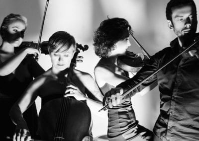 MODES OF TRANSLATION: Screening with live score by Silo String Quartet