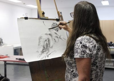 DRAWN TOGETHER: Untutored Life Drawing