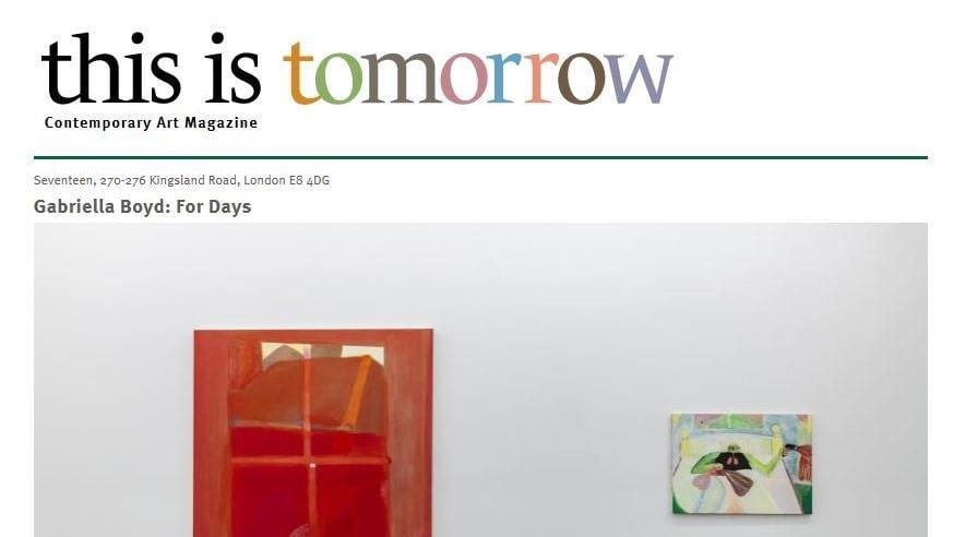 This Is Tomorrow Homepage