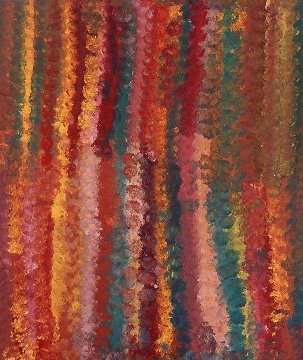 Emily Kame Kngwarreye b circa 1910, d 1996 Flower Dreaming 1994 Synthetic polymer paint on canvas 123.0 x 103.2 cm