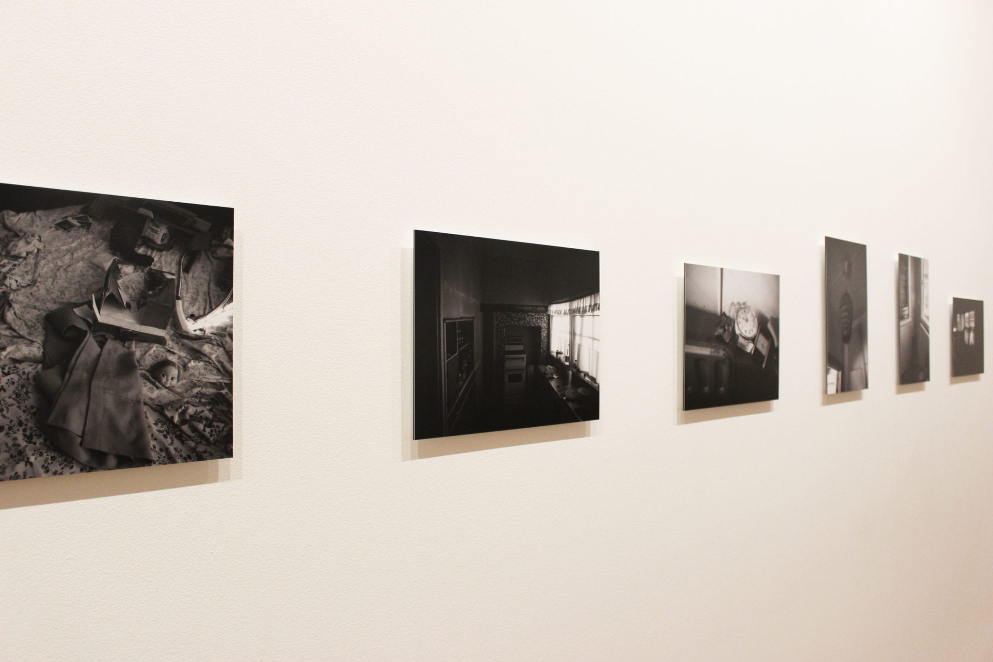 Thirteen works from the series: Long after love left 2014 Type C photograph on di-bond mount 29.7 x 42 cm each Eight from the collection of Latrobe Regional Gallery and five courtesy of the artist