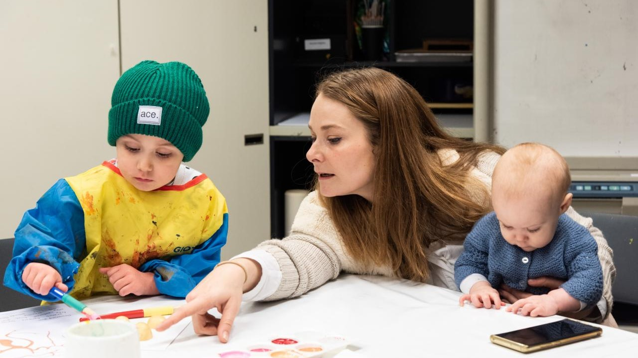 NGV Kids at Home Under 5s