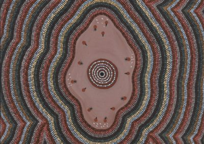 FRIENDLY COUNTRY, FRIENDLY PEOPLE: Art From Papunya Tula