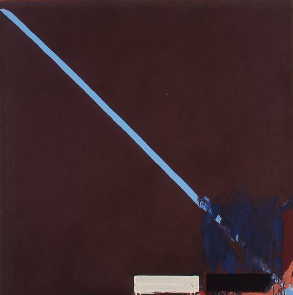 John Firth-Smith, (b. 1943), Untitled, 1972, Acrylic on canvas, 166.2 x 166.2 cm. CBUS Collection of Australian Art.