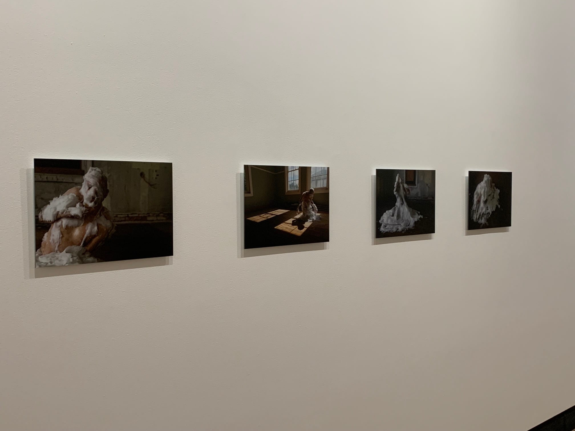 Pezaloom, Installation view of works from Dopa Kinesia series, 2014 in 'Small Town Fetish' exhibition 2020