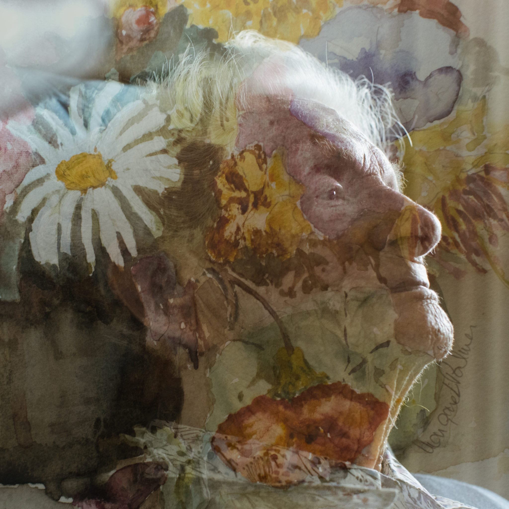 Lauren Murphy, Margaret Palmer, From England to Trafalgar, 2019, double exposure digital image, DIMENSIONS, Courtesy of the artist.