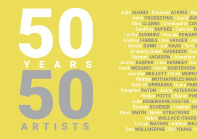 50 YEARS: 50 ARTISTS