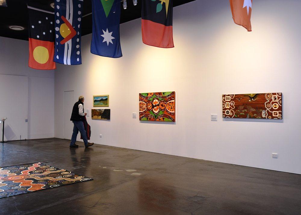 image credit: exhibition installation, Latrobe Regional Gallery